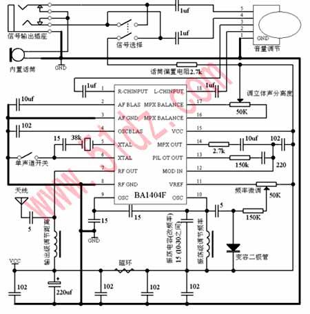 ba1320内部电路图